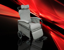 <b>Positioning Chairs</b><br />Easy to push, easy to steer, easy to tilt back.
